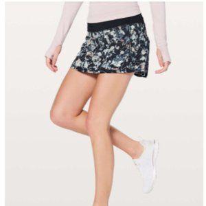 NWOT Lululemon Pace Rival Tennis Skirt D25